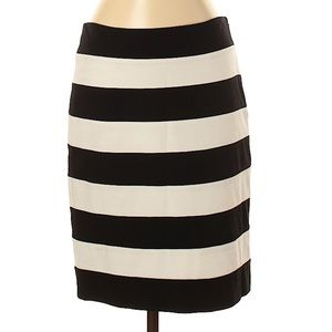 {WHBM} fitted striped pencil mini skirt 2